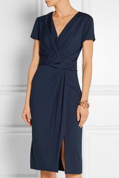 JASON WU Wrap-effect stretch-ponte dress  $1,876.55 https://www.net-a-porter.com/products/647171