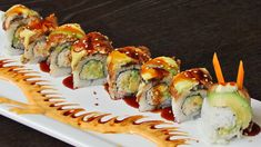 Which Types of Sushi You Should Order if You're Allergic to Shellfish Shellfish Allergy, Japanese Bar, Dragon Roll, Types Of Sushi, Sushi Recipes, Family Meals, Family Recipes, Food Decoration, Sushi Rolls