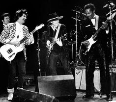 Chuck Berry - wild man of rock who helped define its rebellious sprit - dies at 90....