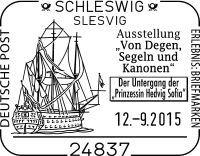 """Aus Anlass des 300-jährigen Jahrestages der Selbstversenkung des schwedischen Flaggschiffes """"Prinzessin Hedvig Sofia"""" am 25. April 1715 vor der Einfahrt zur Kieler Förde findet ein Aktionstag am 12..."""