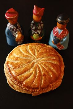 Galette des Rois - French Three Kings Cake, really fast and easy to make!