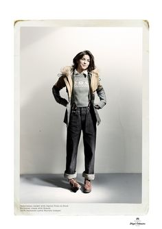 8a818b575cca Nigel Cabourn Fall Winter 2013 Womenswear Collection