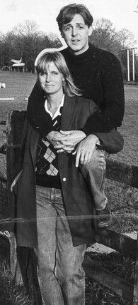 Paul and Linda McCartney, October 1984.© NMeM / Daily Herald Archive / Science & Society Picture Library