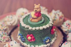 https://flic.kr/p/9Yspqc | Silly Old Bear [181/365] | Happy birthday to my grandma! My sister and I loved to watch The New Adventures of Winnie the Pooh at her house when we were younger, so we thought this cute little cake was fitting. :)