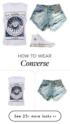 """∆ Illuminate ∆"" by beauty-within101 on Polyvore featuring Converse"
