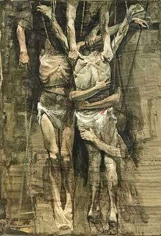 Exodus, the immigration drama reflected by Safet Zec - This is not art Figure Painting, Figure Drawing, Painting & Drawing, Macabre Art, Arte Horror, Creepy Art, Anatomy Art, Art Graphique, Outsider Art