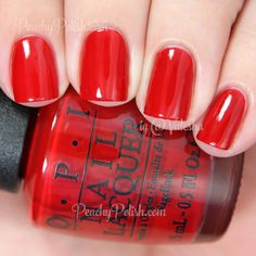 OPI What's Your Point-settia? | Holiday 2014 Gwen Stefani Collection | Peachy Polish