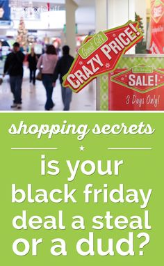 Shopping Secrets: Is Your Black Friday Deal a Steal or a Dud? - thegoodstuff