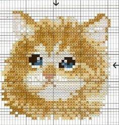 Cat bead pattern / Katze Vorlage