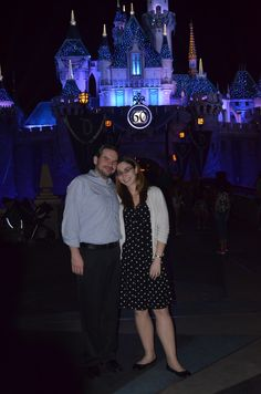 Day 23 of #100HappyDays - 2/15 - I love that we have pictures in front of both castles <3