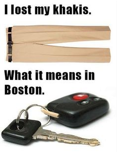 Laughed out loud at this! So true; miss New England