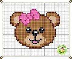 This Pin was discovered by len Unicorn Cross Stitch Pattern, Cross Stitch Baby, Cross Stitch Charts, Cross Stitch Designs, Cross Stitch Patterns, Beading Patterns, Embroidery Patterns, Knitting Patterns, Crochet Patterns