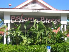 Bahama Breeze Restaurant (Scene of first date) Full deck includes gazebo and main deck. 120 people. They play live reggae music and have awesome deals!
