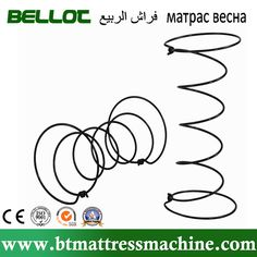 Hight Carbon Mattress Spring and Mattress Bonnell Spring Manufacturer Machine Embroidery Quilts, Machine Quilting, Mattress Springs, Letters, Letter, Lettering, Calligraphy