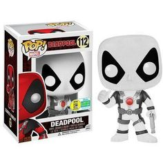 Funko Pop! Marvel Deadpool Black & White SDCC 2016 Exclusive (SDCC Sticker)
