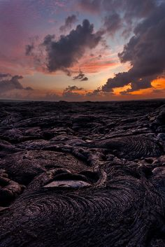 Pele Blood Sacrifice - Pre-dawn hike out to the flowing lava on the Big Island of Hawaii.