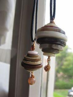 collana di bottoni- #diy #tutorial #necklace