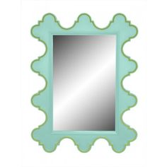 """easton mirror - 41.5""""H x 31""""W x 1.5""""D, paint can be customized"""