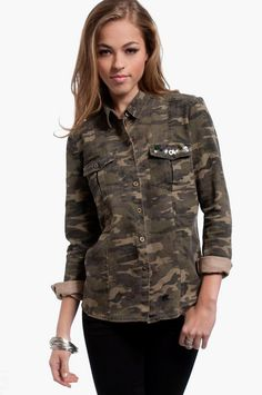 Girl Scouter Military Jacket | Tobi