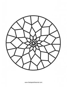 Islamic Patterns Coloring Pages | Mosaic patterns coloring pages - Coloring Pages & Pictures - IMAGIXS