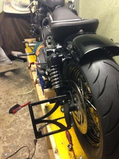 """The Silencer"" Harley Davidson Bobber auf Basis 2007 Nightster 1200 XL - Making of - Phase 2"