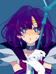 sailor moon, Sailor Saturn