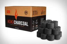 Koko Charcoal - made from coconut fiber.