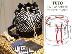 SAC: 10 Patrons et Tutos Couture kostenlos Bettinael.Made in fra … - Mode Kleider Modelle Sewing Patterns Free, Free Sewing, Stitching Patterns, Mochila Crochet, Crochet Bags, Mens Fashion Online, Patchwork Quilting, Couture Sewing, Denim Bag