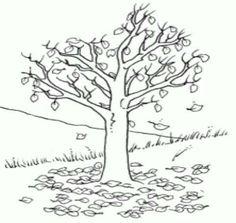 Fall Tree Coloring Page - √ 27 Fall Tree Coloring Page , Bare Tree without Leaves Coloring Pages Tree Coloring Leaf Coloring Page, Spring Coloring Pages, Online Coloring Pages, Printable Coloring Pages, Colouring Pages, Coloring Pages For Kids, Coloring Books, Autumn Trees, Autumn Leaves