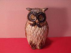 Sale  Owl/ owl / figurine/ porcelain/ hand painted by RetroBuy,