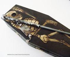 Dark Wizard Skeleton Wand