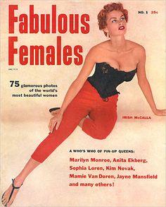 fabulous Females magazine ft Irish McCalla on the cover
