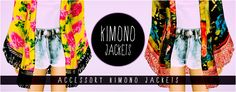 Historical Finds for the Sims3 - Kimono Jacket