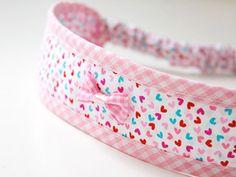 DIY: Sommer-Haarband in fünf Größen von Kreativlabor Berlin  - Nähen bei DaWanda