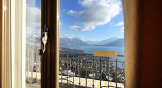 Le Mirador Resort & Spa is a luxury hotel with panoramic views over Lake Geneva, the Alps, and the Rhone Valley. Dream Hotel, Vevey, Lake Geneva, Above The Clouds, Resort Spa, Switzerland, Rooms, Luxury, Bedrooms