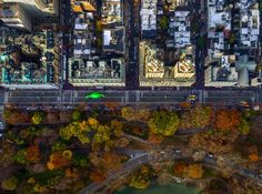Jeffrey Milstein - NYC Macys Parade 59th Street. Fotografia aerea NY. Paisajes de la modernidad. Geometria arquitectonica de la ciudad. Luces de Nueva York. Vista aerea. #iconocero