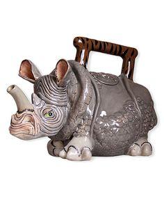 Love this Rhino Teapot on #zulily! #zulilyfinds