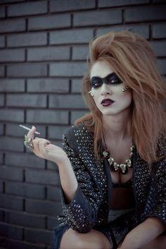 high fashion punk - punk fashion high