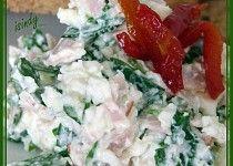 Bílková pomazánka s medvědím česnekem Potato Salad, Dips, Potatoes, Meat, Chicken, Ethnic Recipes, Food, Sauces, Potato