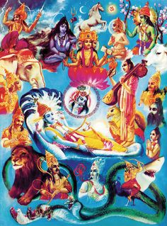 Bhagavad Gita: Know that all these beautiful, glorious and mighty creations spring from but a spark of My splendor.