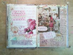 The Painted Flower: This weekends art journaling