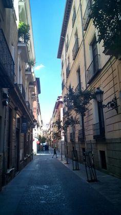 Centro de Madrid atraves del móvil