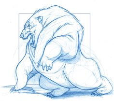 Mordu (Demon Bear) - Disney Pixar's Brave by KingOlie.deviantart.com on @deviantART