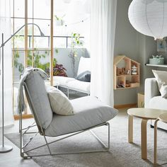 The IKEA Spring Catalog 2020 has been released, packed with smart Scandi design inspiration Outdoor Seat Pads, Outdoor Cushion Covers, Outdoor Cushions, Cushions On Sofa, Couch, Ikea Outdoor, Ikea Sofas, Fluffy Cushions, Fabric Armchairs