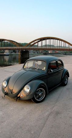 vw beetle green
