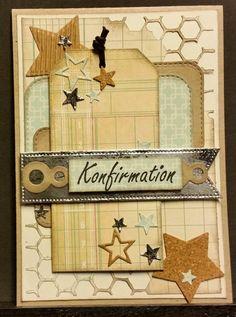 kortblogger: Konfirmations kort.