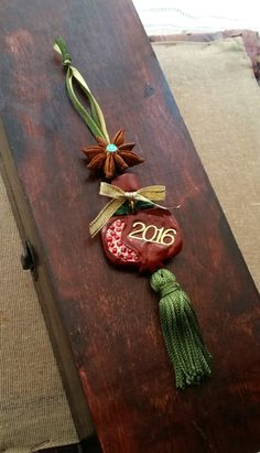 Pomegranate Good Luck Charm Home Decor 2016 by EvasCreationsShop