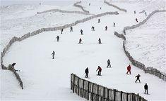 Winter in Glenshee, Scotland