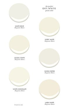 Best off-white paint colors by Benjamin Moore. #BenjaminMoore #Offwhite #Paintcolors Brunch at Sacks.