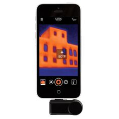 Seek Thermal IOS 7+ Thermal Imaging Camera iPhone 5 / 6 iPod Touch LW-AAA